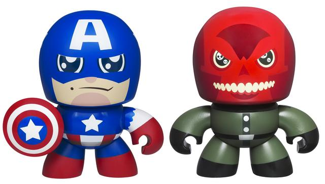 Two-Pack Avengers Mini Muggs Captain America and Red Skull