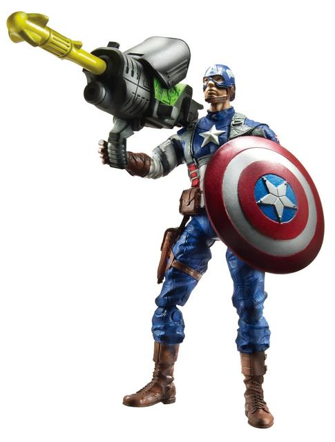 Wave 1 - Avengers Rocket Grenade Captain America