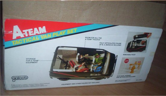 Galoob Released The A Team Tactical Van Playset In 1984