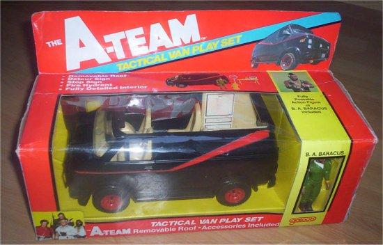 A Team Galoob Van
