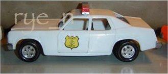 Dukes Of Hazzard Police Car