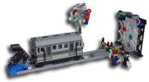 spider-man train rescue lego set