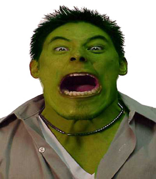 damon nee as the incredible hulk