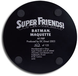 Super Friends Batman Maquette