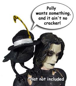 Crow Bust