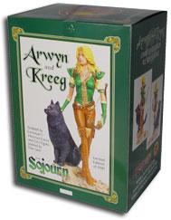 Arwyn Statue