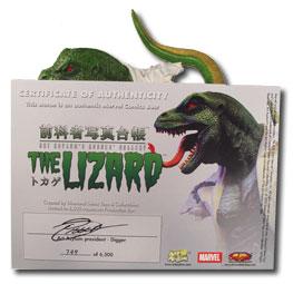 Rogue's Gallery Lizard Bust
