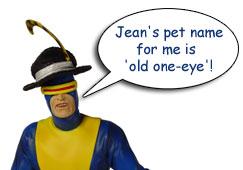 Silver Age Cyclops Statue