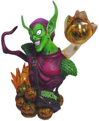 Rogue's Gallery Green Goblin Bust
