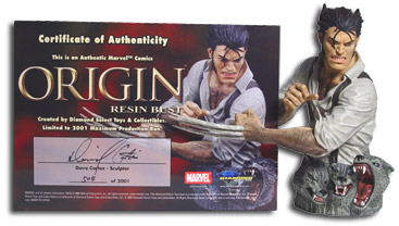 Marvel Universe Origin Wolverine bust