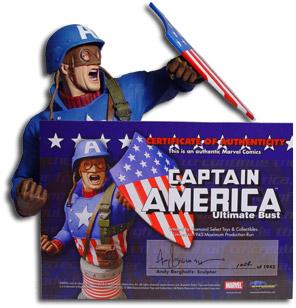 Captain America Bust