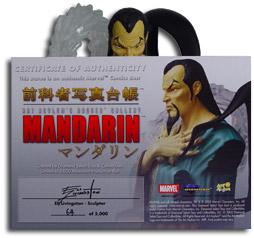 Rogue's Gallery Mandarin Bust