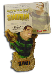 Rogue's Gallery Sandman Bust