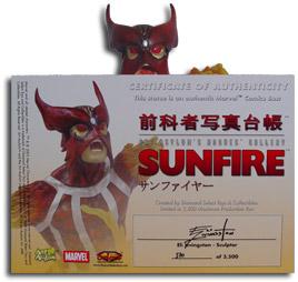 Rogue's Gallery Sunfire Bust
