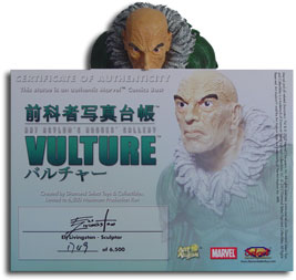 Rogue's Gallery Vulture Bust