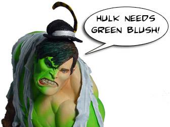 hulk mini bust