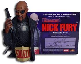 Nick Fury Bust