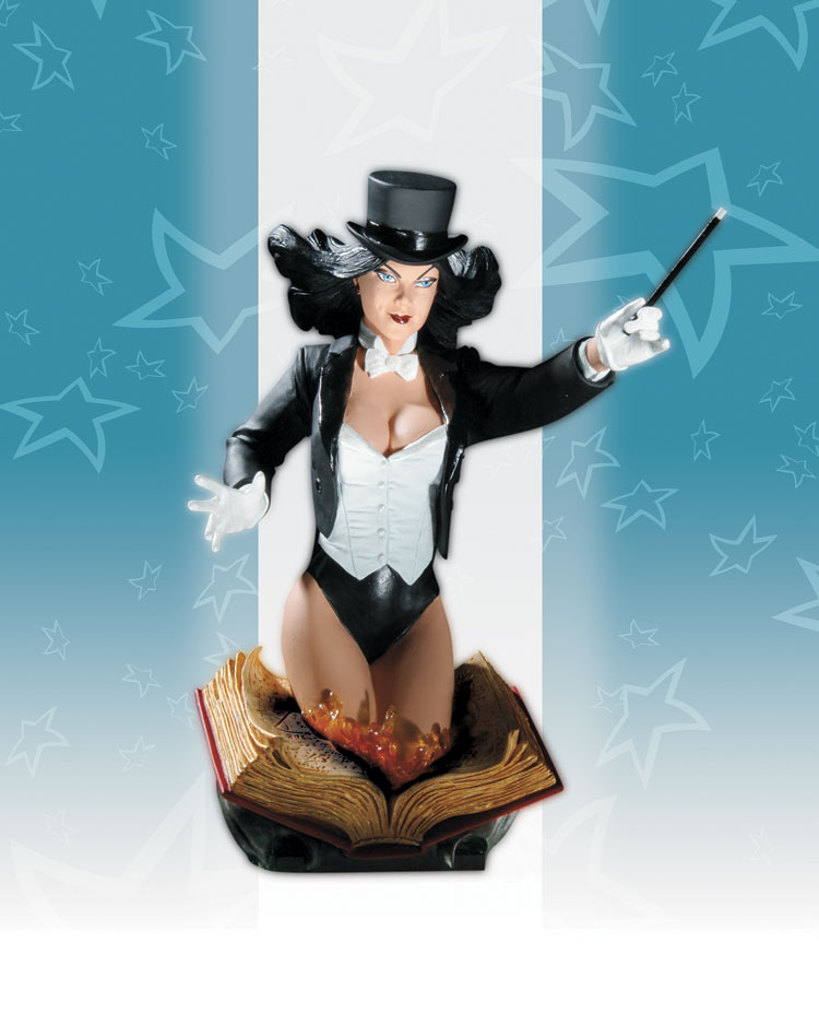 WOMEN OF THE DC UNIVERSE SERIES 3: ZATANNA BUST