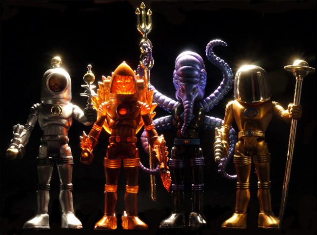 Futuretro Exclusive Outer Space Men