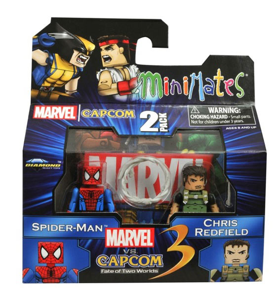 Marvel vs. Capcom 3 Minimates Wave 2