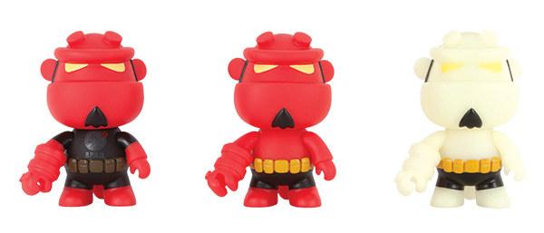 Hellboy Mini-Qee Vinyl Toys