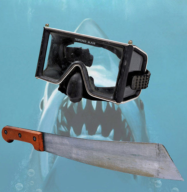jaws movie props