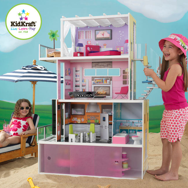 Beachfront Mansion Dollhouse