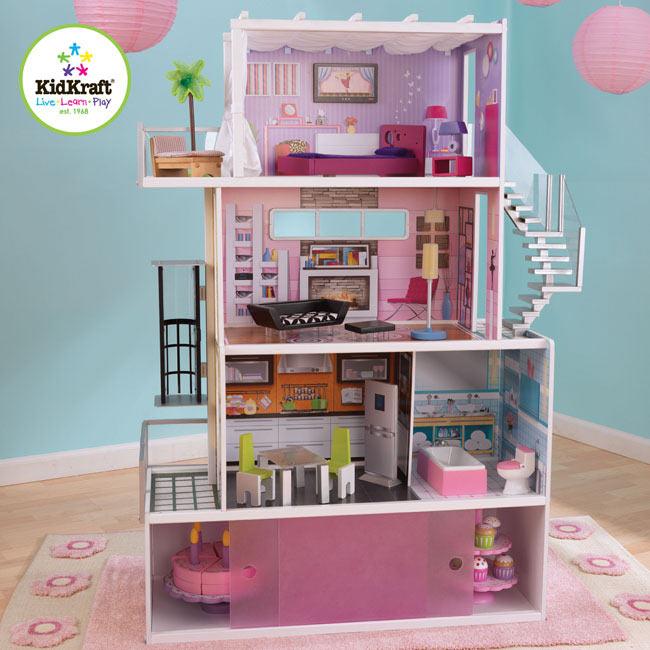 Beachfront Mansion Dollhouse