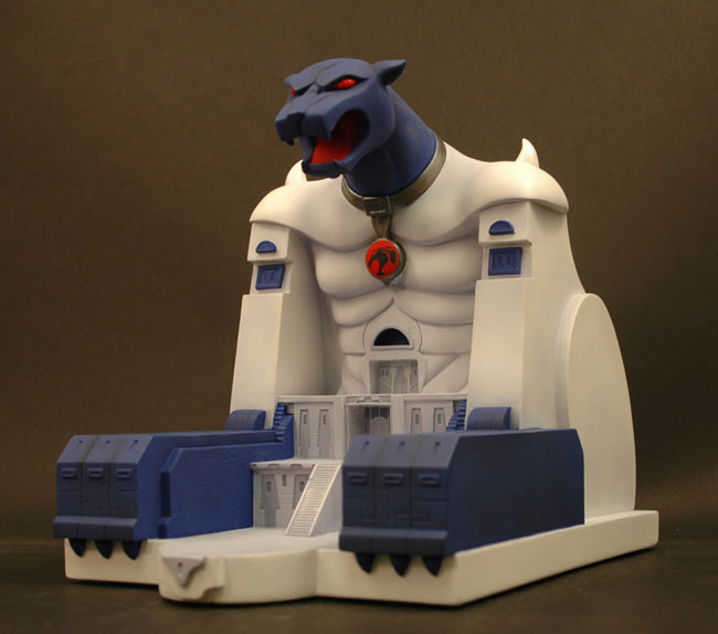 Cats Lair Polystone Environment Statue
