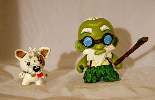 Rocketboy Customs Custom Toy Raffles for Waking Wally Street