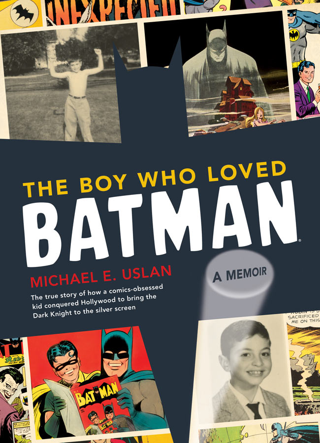 book cover - The Boy Who Loved Batman