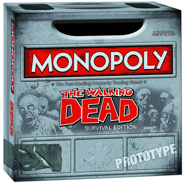 The Walking Dead Monopoly and Risk Games