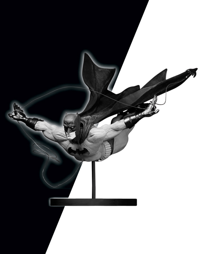 DICK GRAYSON AS BATMAN STATUE BY JOCK