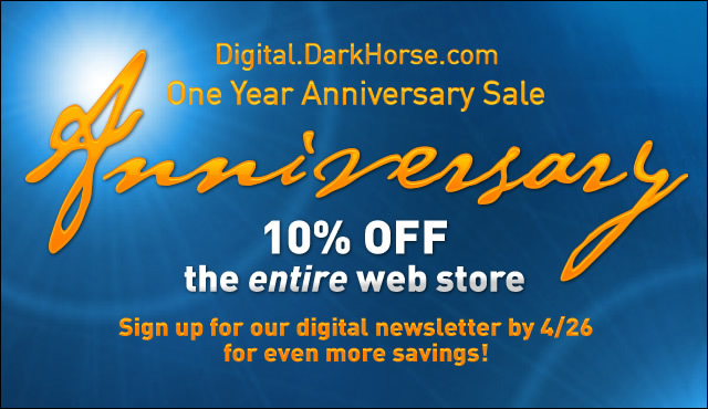 Dark Horse Digital Anniversary Sale