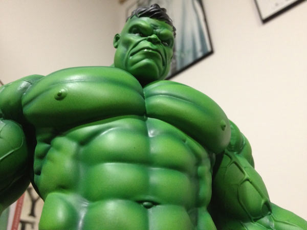 Incredible Hulk mini-bust