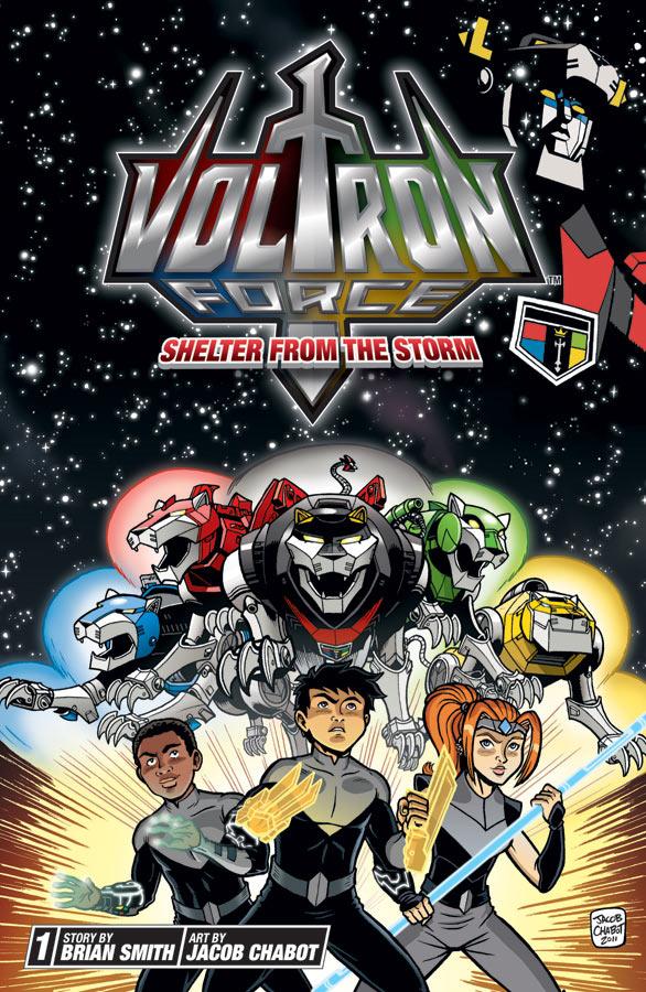 voltron force graphic novel