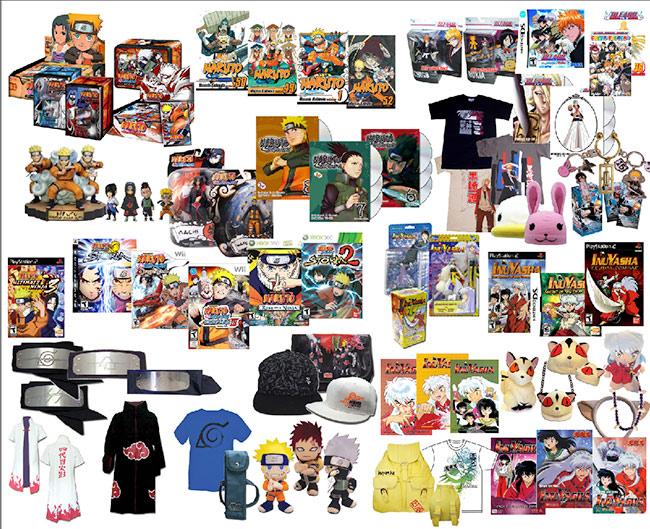 Diamond to Distribute Japanese Action Figures and Toys Based on VIZ Media Properties