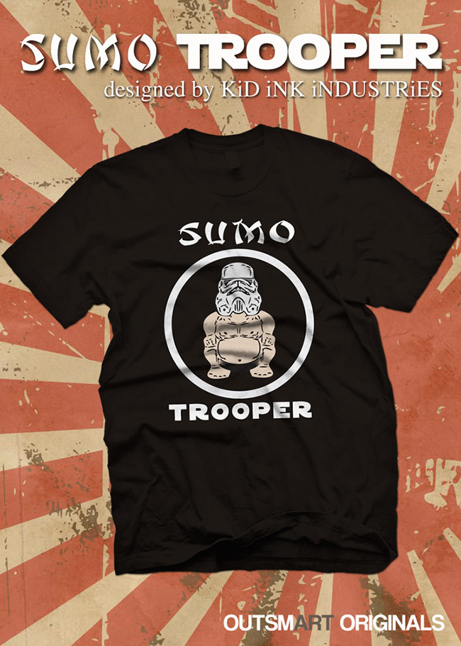 SUMO TROOPER T-SHIRT Release