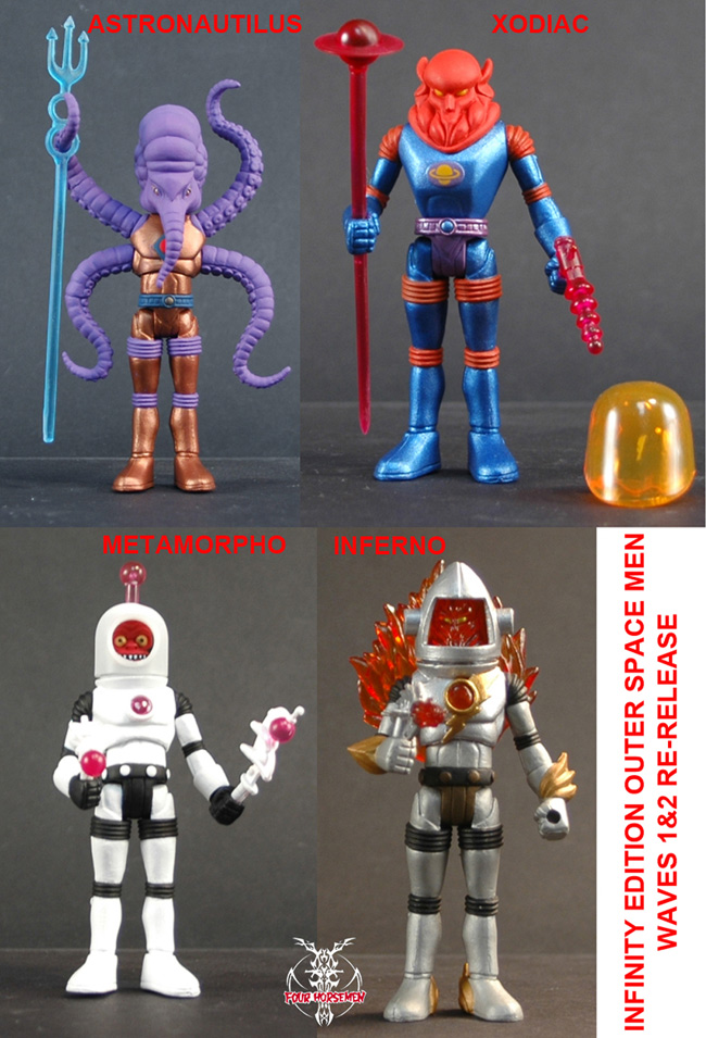 Outer Space Men Variants