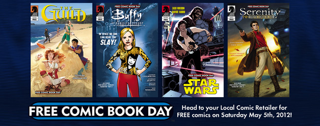 dark horse free comic book day