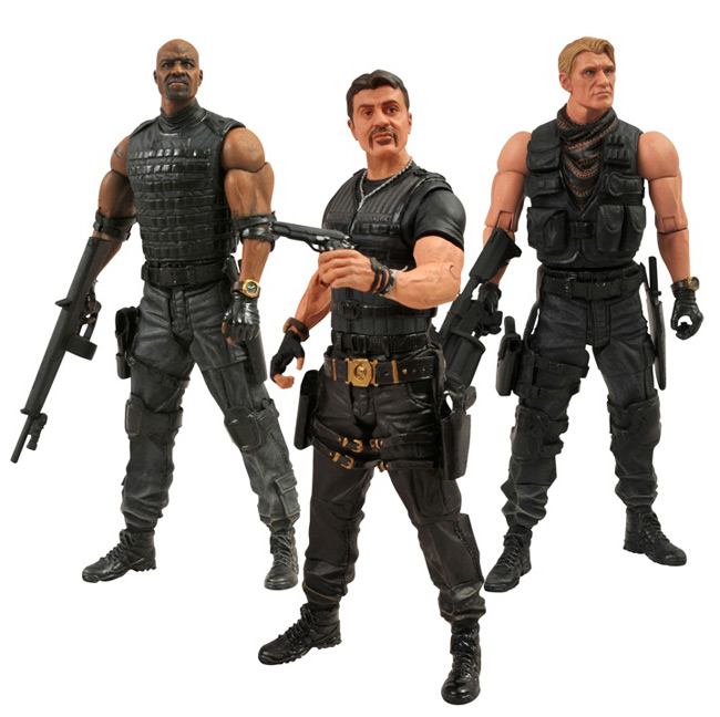 The Expendables from Diamond Select