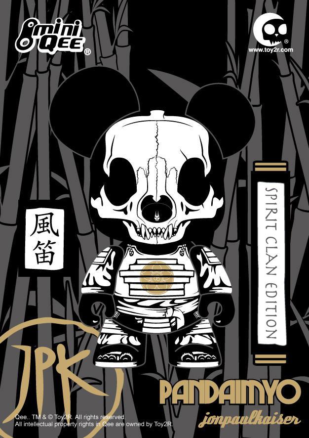 Jon-Paul Kaiser's Pandaimyo 'Spirit Clan' Edition Mini Qee