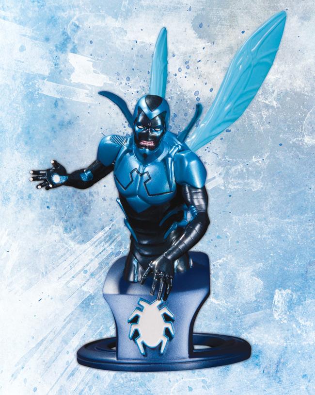 BLUE BEETLE BUST