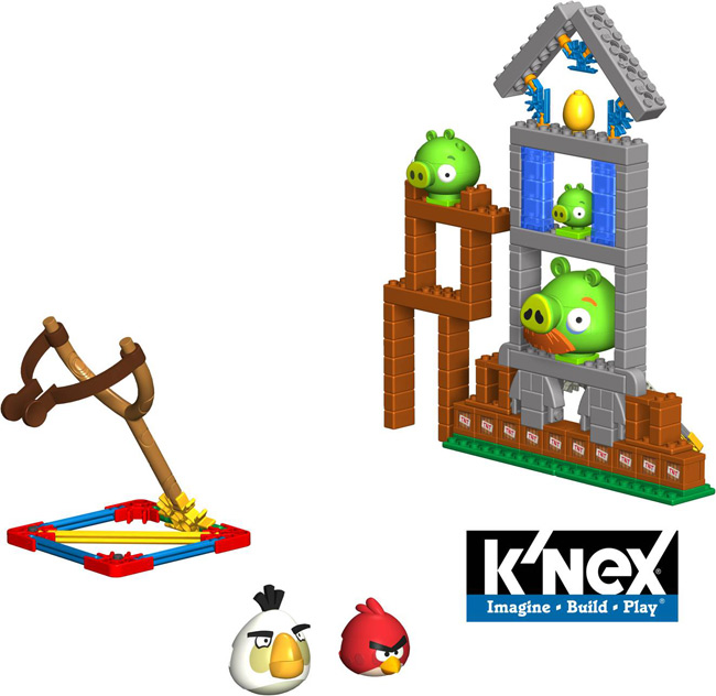 angry birds sets from knex