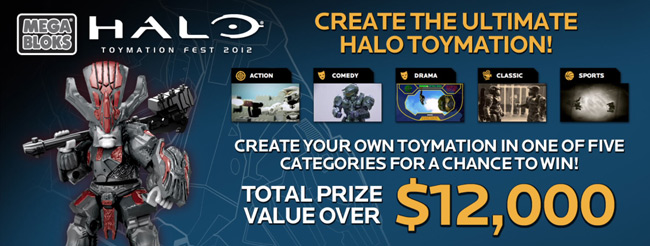 Mega Bloks Halo Toymation Contest