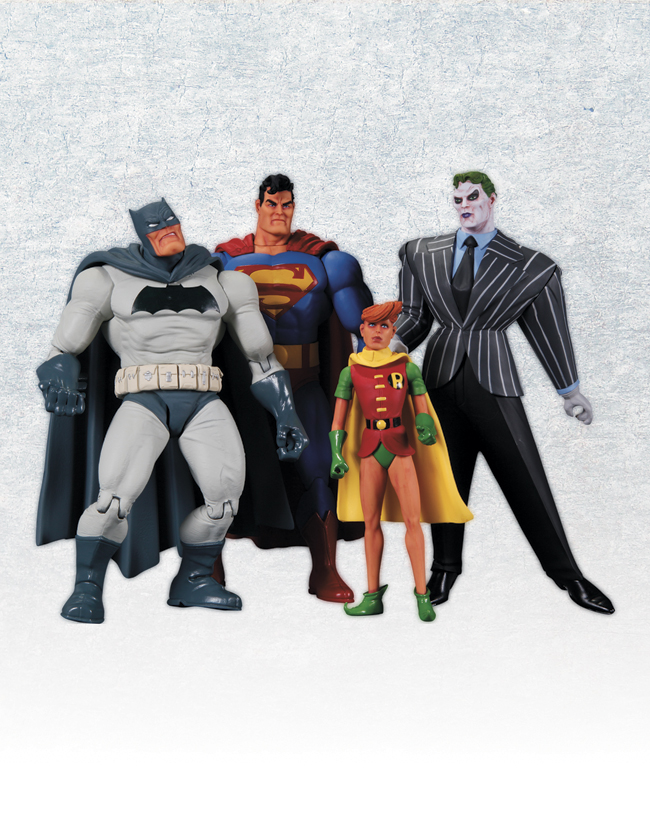 THE DARK KNIGHT RETURNS ACTION FIGURE 4-PACK