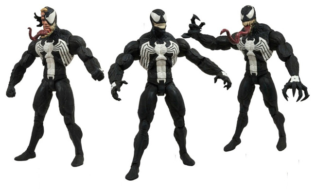 marvel select venom action figure