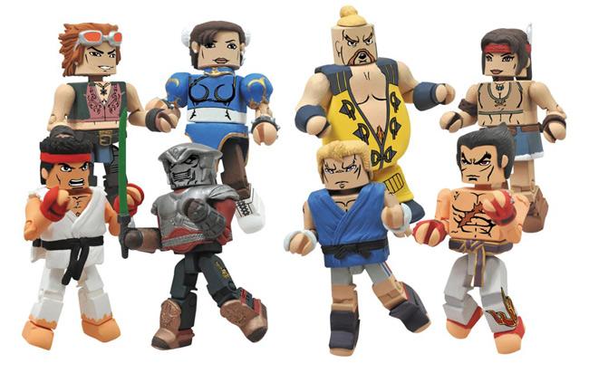 Street Fighter X Tekken Minimates