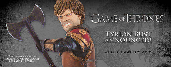 Tyrion Lannister Statue