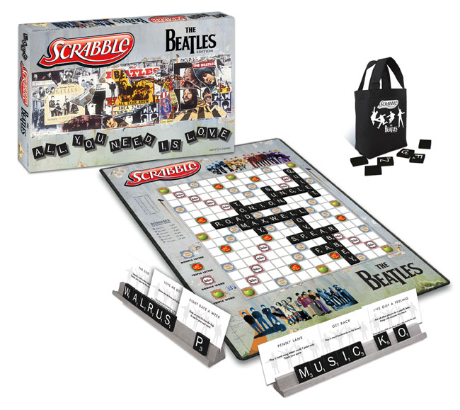 Beatles SCRABBLE Board Game